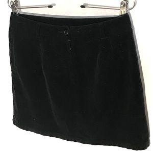 Adorable J Crew Velvet Mini Skirt